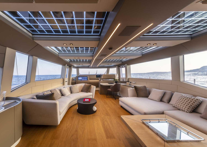 Extra 86 Yacht Interior Design