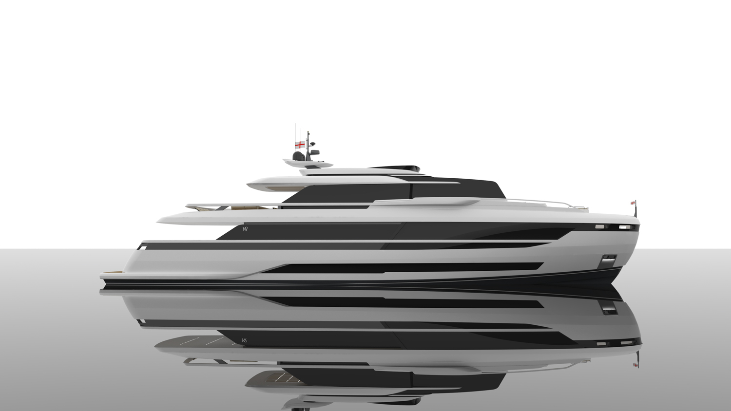 Extra 120 Yacht Side View