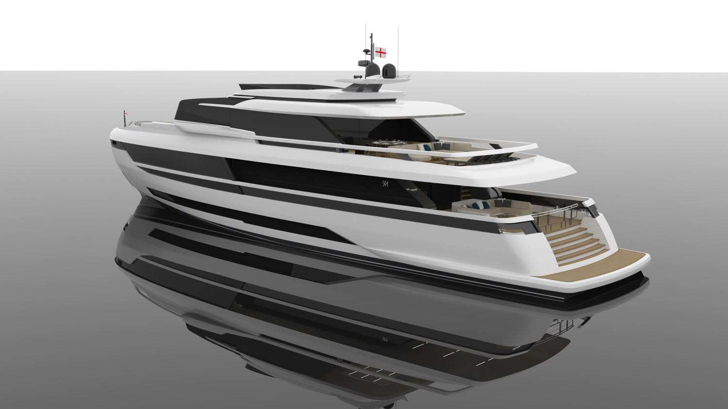 Extra 120 Yacht Front View